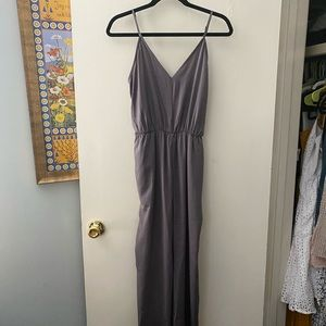 Grey Jumpsuit NWT